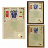 Polish Surname Family Crest and History A3 Print PERSONALISED,  ref FCPP